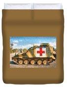 Samaritan Ambulance Duvet Cover