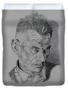 Samuel Beckett Duvet Cover