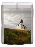 San Diego Lighthouse Duvet Cover