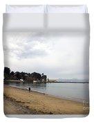 San Francisco Maritime National Historical Park Duvet Cover