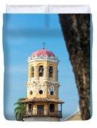 Santa Barbara Church Duvet Cover