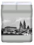 Santiago De Compostela Cathedral Galicia Spain Duvet Cover