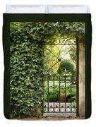 Savannah Gate Impasto Duvet Cover
