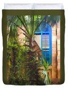 Savannah Window Impasto Duvet Cover
