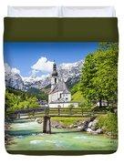 Scenic Bavaria Duvet Cover