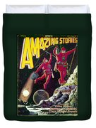 Science Fiction Cover 1929 Duvet Cover