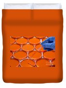 Scientific Experiment In Science Research Lab Duvet Cover