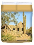 Scorpion Gulch Phoenix Arizona Duvet Cover