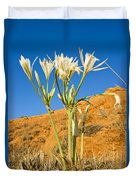 Sea Daffodil Duvet Cover