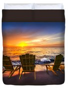 Sea Dreams II Duvet Cover