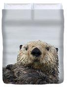 Sea Otter Alaska Duvet Cover