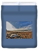 Sea Shell Sea Shell By The Sea Shore At Presque Isle State Park Series Duvet Cover