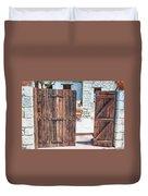 Secret Courtyard Duvet Cover