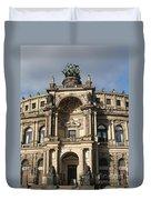 Semper Opera Dresden Germany Duvet Cover