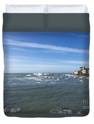 Sestri Levante With The Sea Duvet Cover