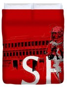 Sfu Art Duvet Cover by Catf