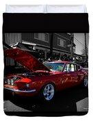 Shelby Gt 500 Mustang Duvet Cover
