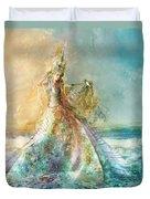 Shell Maiden Duvet Cover