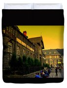 Shimla Town Hall Duvet Cover