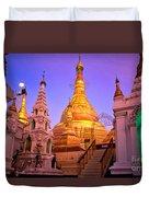 Shwedagon Paya - Yangoon Duvet Cover