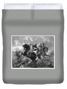 Siege Of Yorktown, 1781 Duvet Cover
