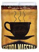 Sierra Maestra Cuban Coffee Duvet Cover