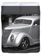 Silver Ford Duvet Cover