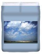 Silver Lake Sand Dunes Duvet Cover