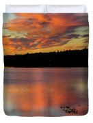 Skilak Lake, Alaska, The Aleutian Duvet Cover