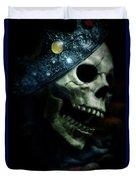 Skull In Crown Duvet Cover