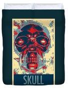 Skull In Hope Duvet Cover