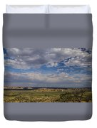 Sky City Duvet Cover