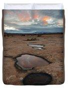 Slickrock In Arches National Park Duvet Cover