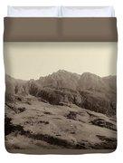 Slope Of Hills In The Scottish Highlands Duvet Cover