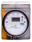 Smart Grid Residential Digital Power Supply Meter Duvet Cover