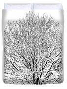 Snow Cover Duvet Cover