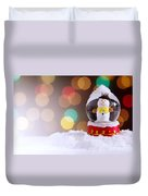 Snow Globe Duvet Cover