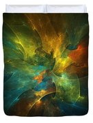 Somewhere In The Universe Duvet Cover