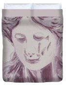 Sorrow - Triptych Panel 1 Duvet Cover