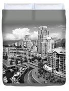 South Vancouver Bc Canada Duvet Cover