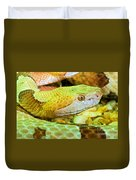 Southern Copperhead Duvet Cover