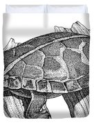 Southern Painted Turtle Duvet Cover