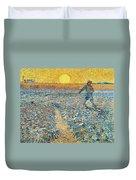 Sower Duvet Cover by Vincent van Gogh