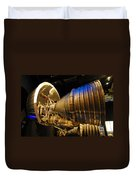 Space Rocket Thrust Engine Duvet Cover