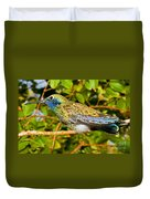Sparkling Violet Ear Hummingbird Duvet Cover