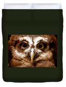 Spectacled Owl  Duvet Cover