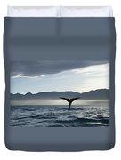 Sperm Whale Physeter Macrocephalus Duvet Cover
