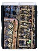 Spinal Column Duvet Cover