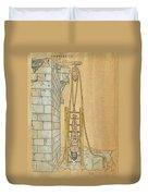 Spine Treatment, 1544 Duvet Cover