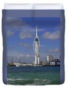 Spinnaker Tower Duvet Cover